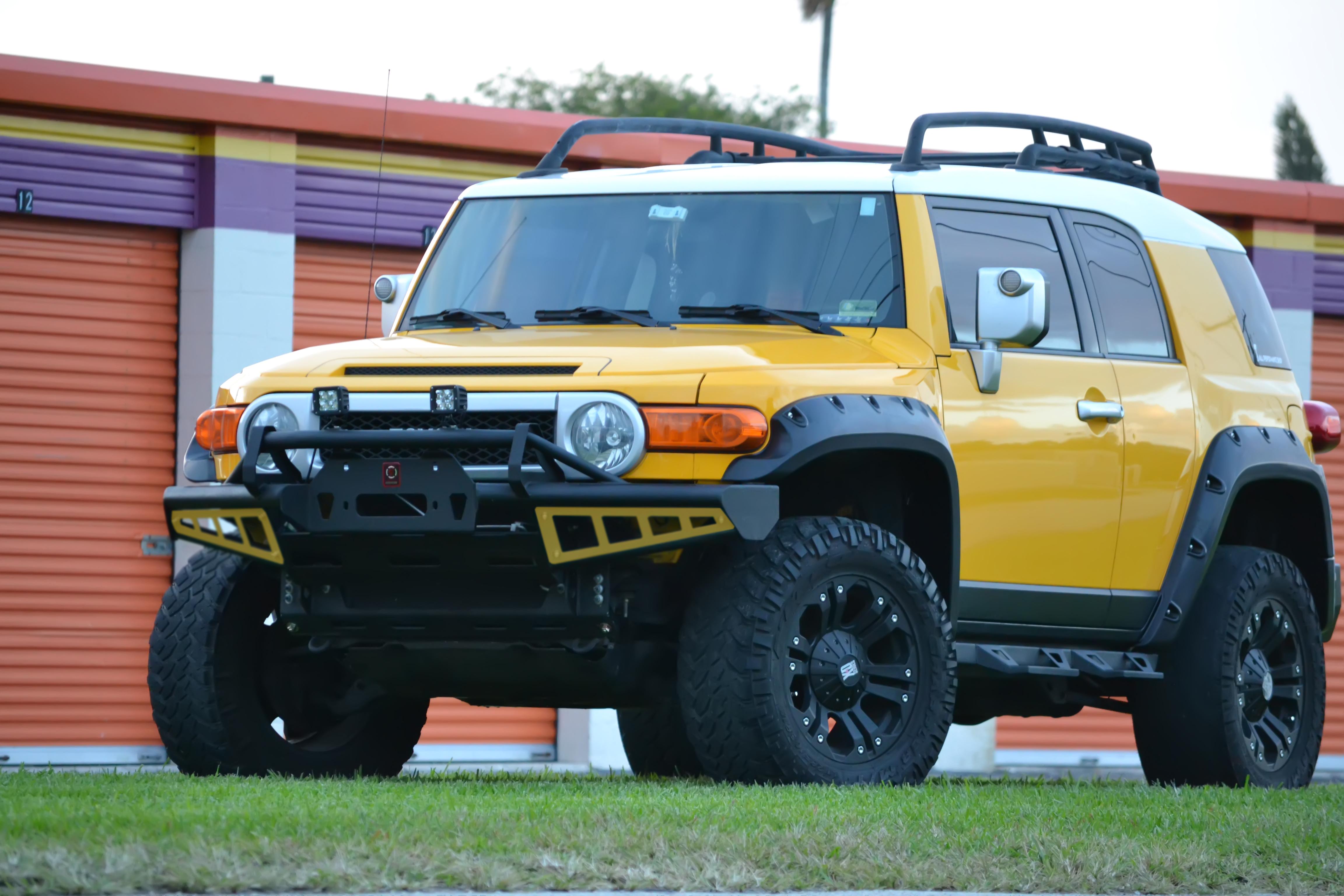 Fj Cruiser Front Rally Bumper Proline 4wd Equipment