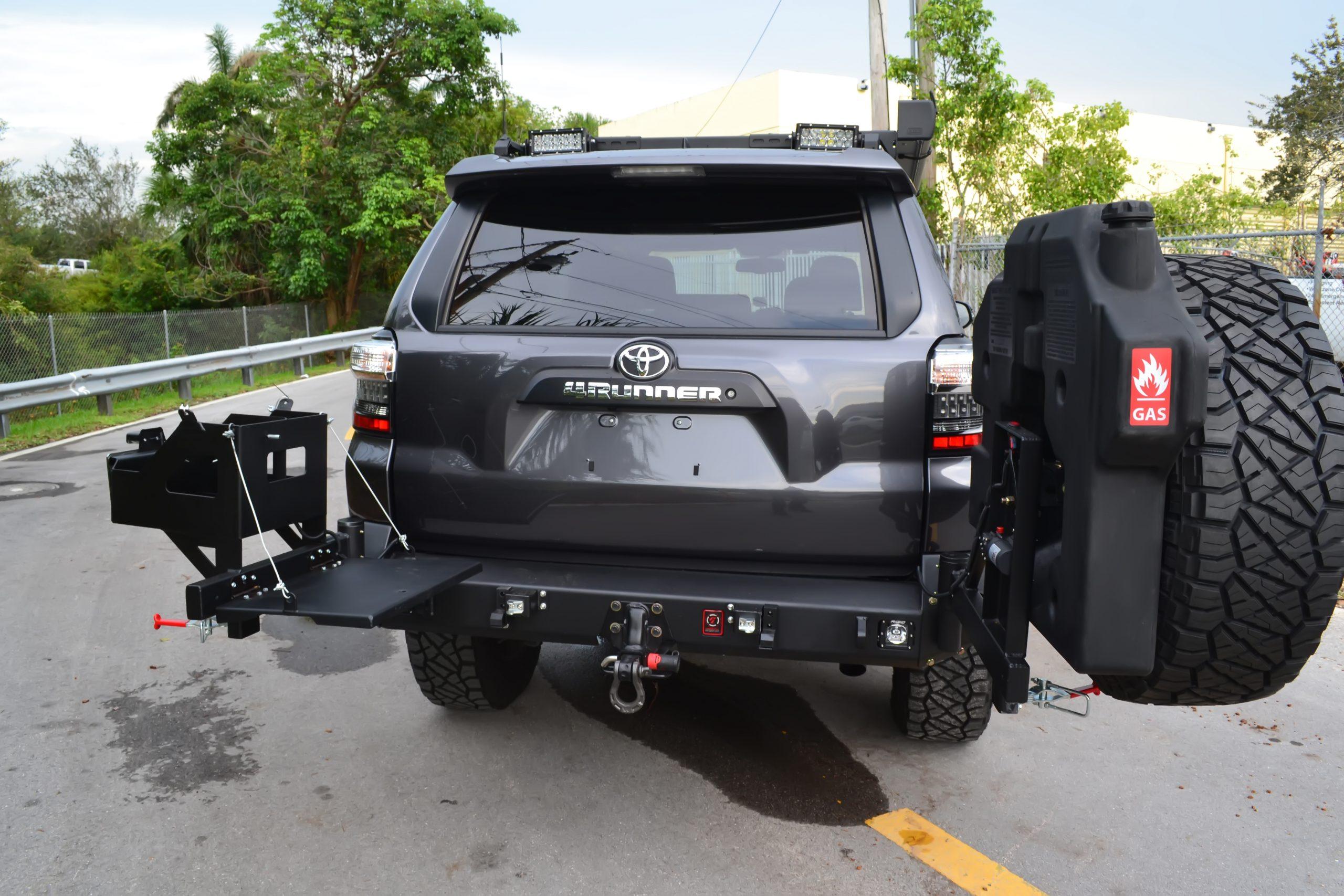 Toyota 4runner 2010 Up Rear Elite Bumper Proline 4wd Equipment Miami Florida