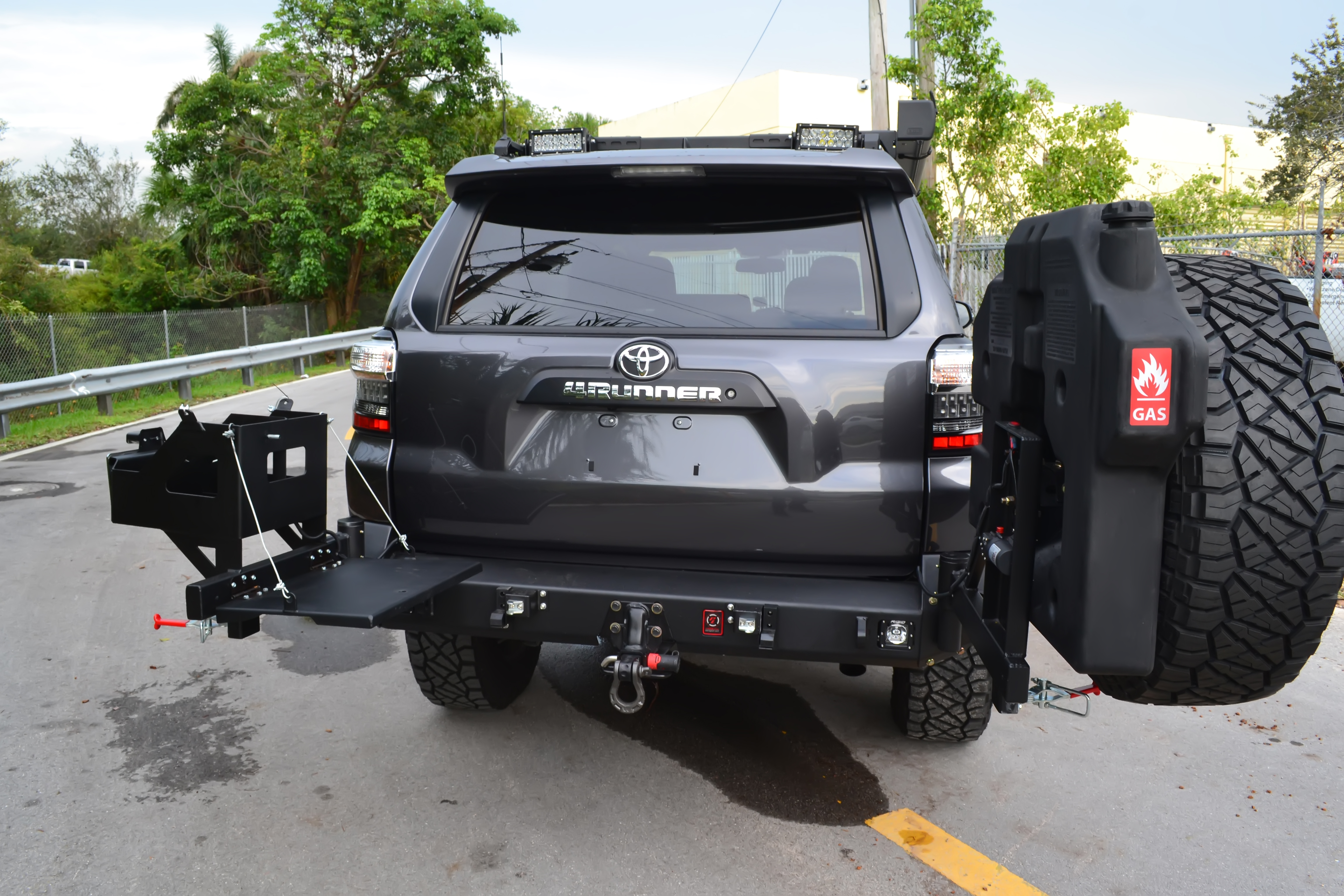 Toyota 4runner Bumper >> Toyota 4runner 2010 Up Rear Elite Bumper Proline 4wd Equipment