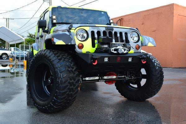 JK Front Stubby Bumper - Proline 4wd Equipment - Miami Florida