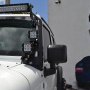 Jeep JK Windshield Light Bar Mount - Proline 4wd Equipment - Miami Florida