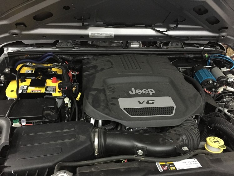 Bed Rack Tacoma >> Jeep JK Dual Battery Tray 2012-UP | Proline 4wd Equipment ...