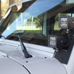 Jeep JK Windshield Dual LED Mount - Proline 4wd Equipment - Miami Florida