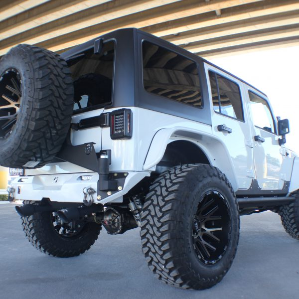 Jeep Wrangler (JK) Rear Elite Bumper
