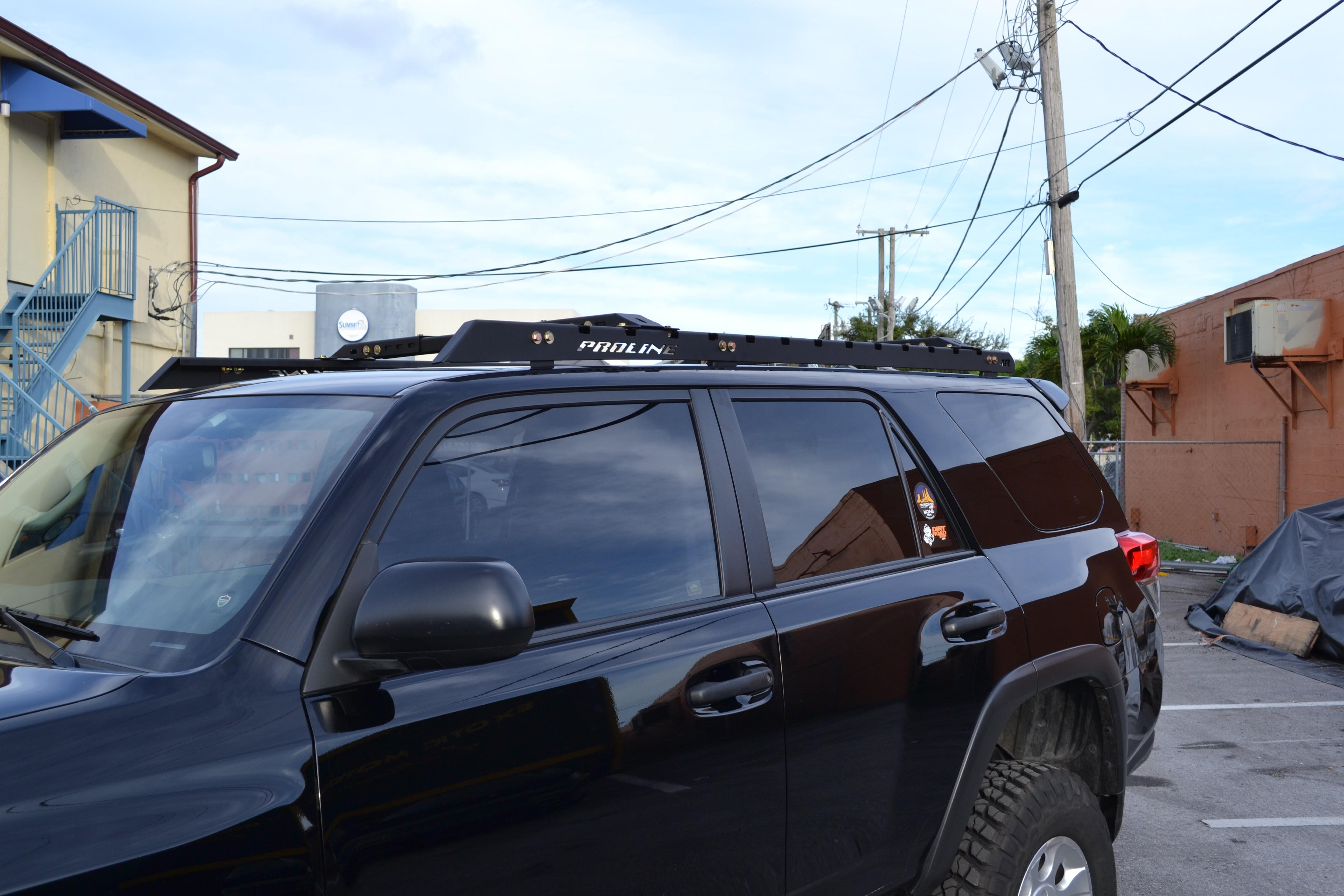 Toyota 4runner 2010 Up Roof Racks Proline 4wd Equipment
