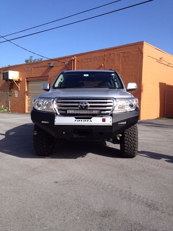 Toyota Land Cruiser J200 Front Elite Bumper - Proline 4wd Equipment - Miami Florida
