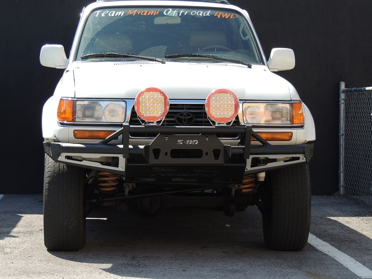 Land Cruiser J80 Front Rally Bumper Proline 4wd