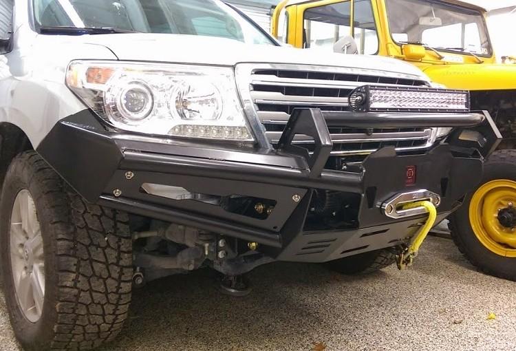 Toyota Land Cruiser J200 Front Rally Bumper - Proline 4wd Equipment - Miami Florida