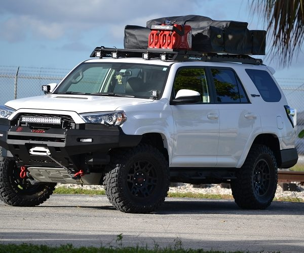 Toyota 4Runner 2010 UP Roof Racks