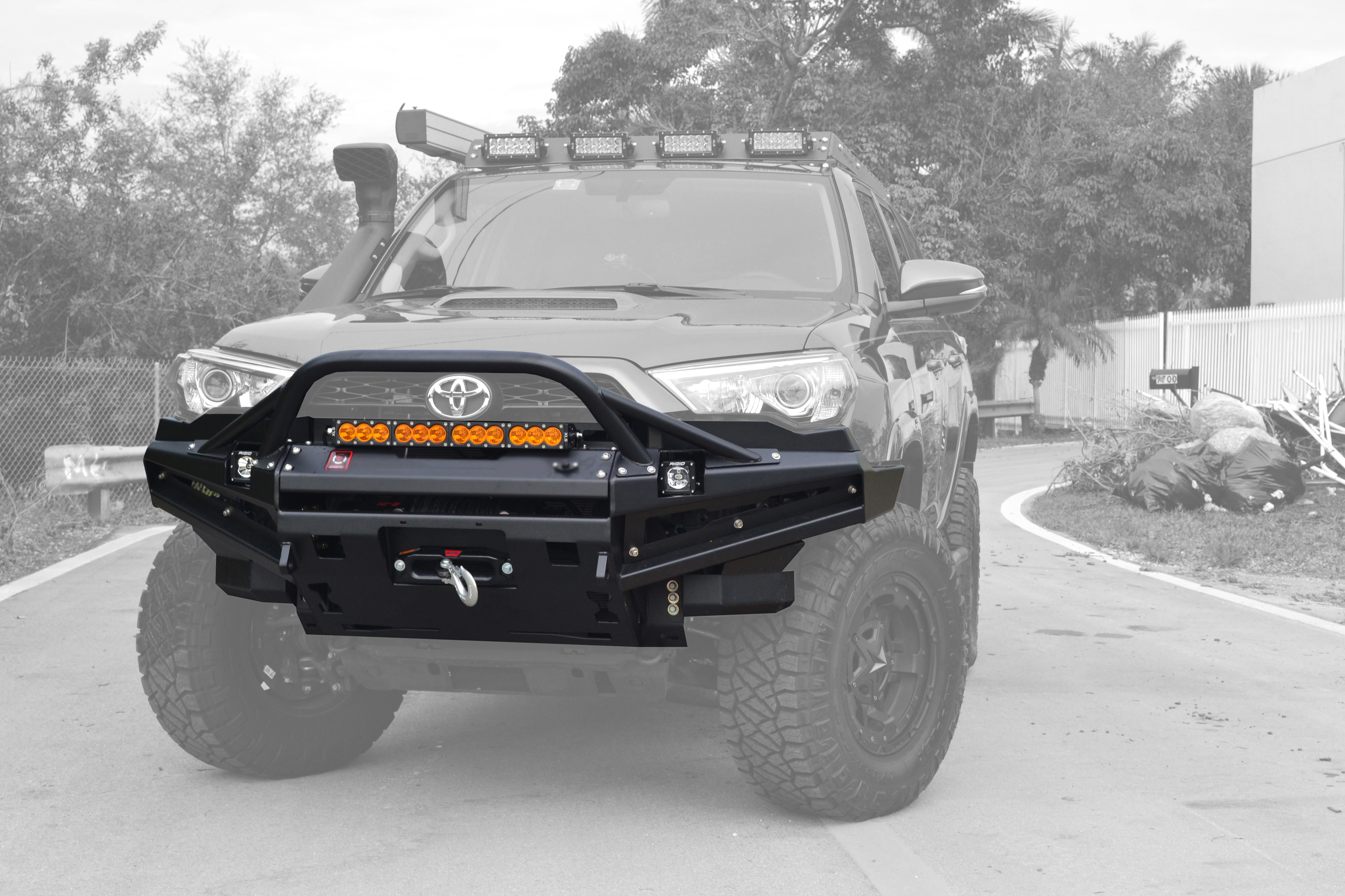 Best Year 4runner >> Toyota 4Runner 5th Gen R1 Front Bumper | Proline 4wd Equipment | Miami Florida