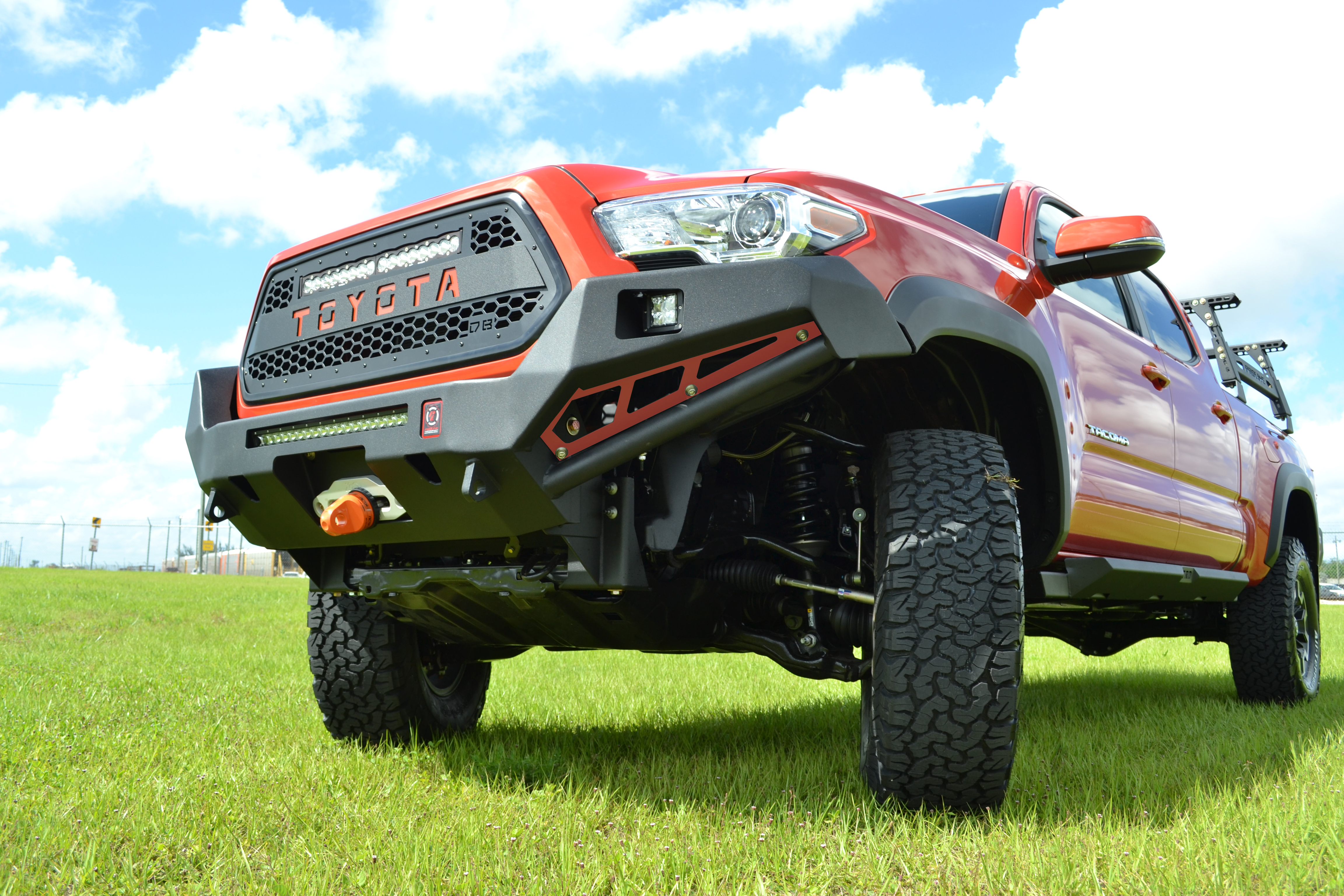 Toyota 4runner R1 Front Bumper With Guard 2010 Proline