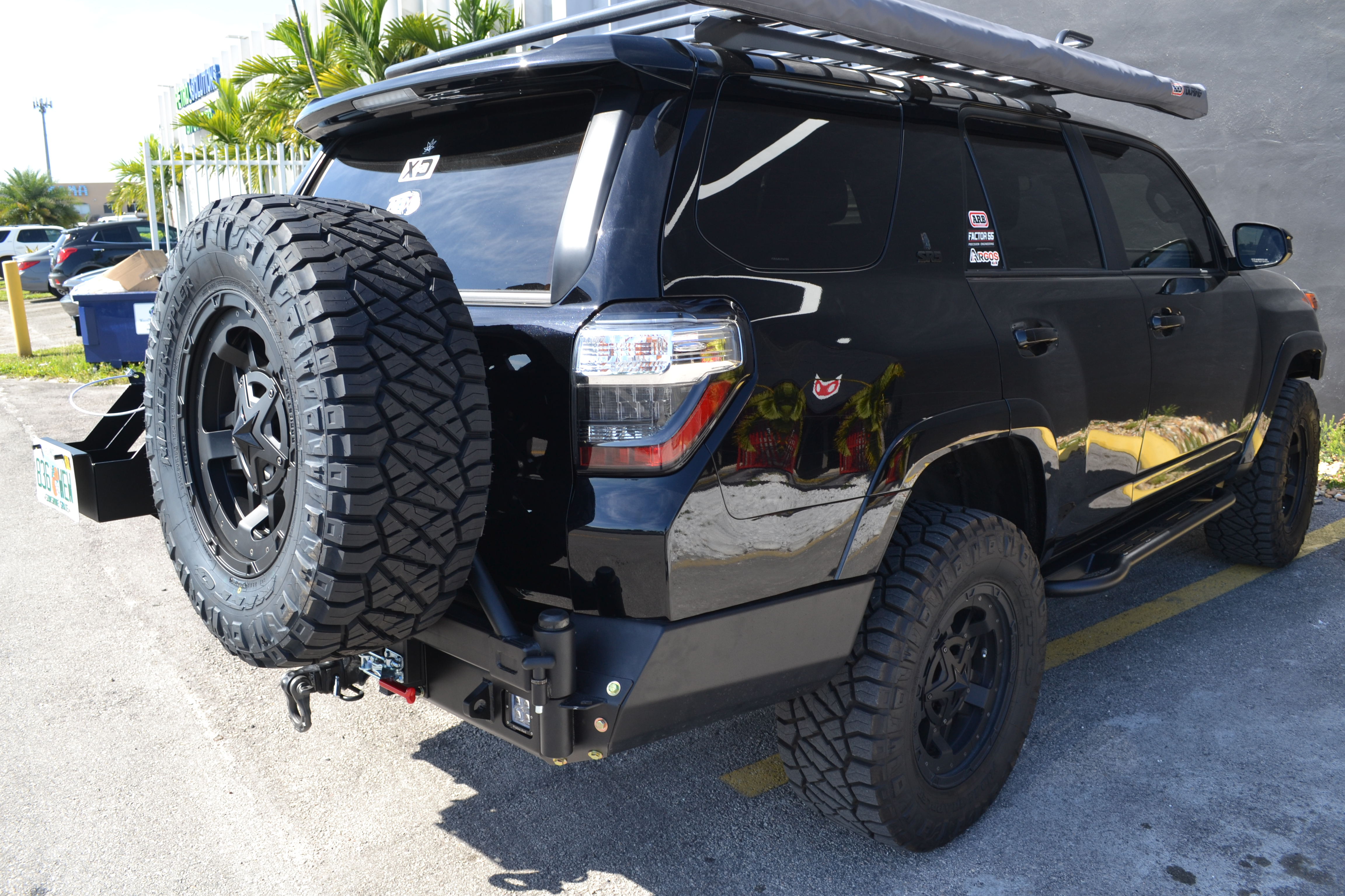Rock Sliders 5th Gen Toyota 4runner Proline 4wd
