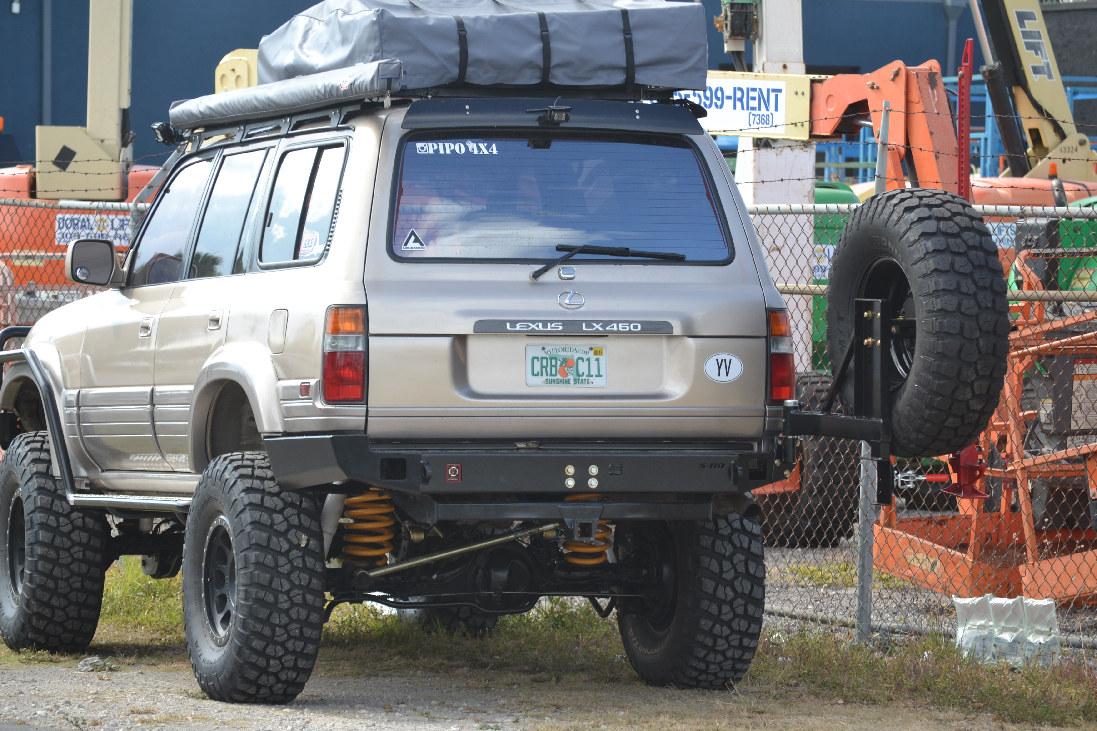 Land Cruiser J80 Rear Elite Bumper Proline 4wd Equipment